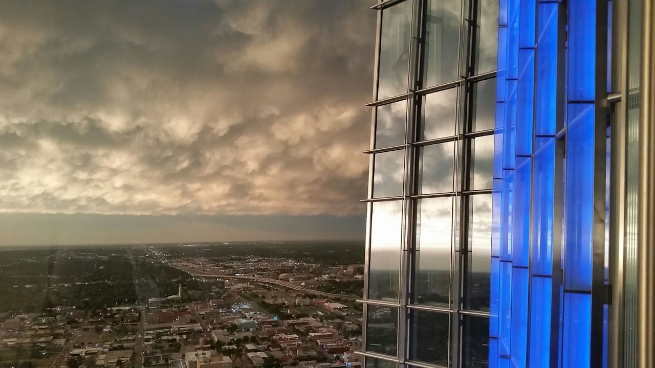 From inside Devon Tower